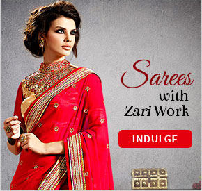 Range of beautiful Sarees with intricate embroidery and awe-inspiring work. Shop!