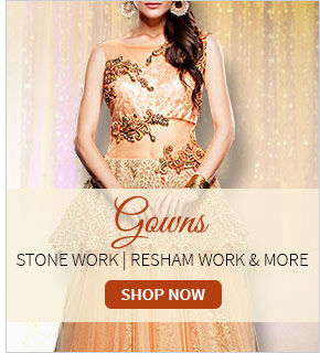 Glamorous gowns for a high fashion look. Shop!
