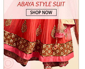Double Layered Abaya Style Suit that blends tradition & panache. Shop!