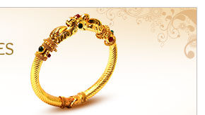Flaunt this Ornate Bangles with your traditional attires. Grab yours!