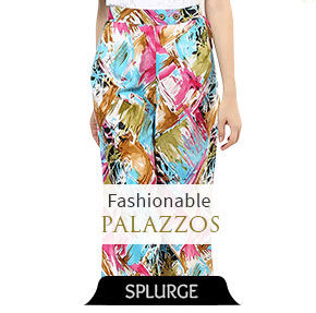 Indo Western Palazzos for a modern look. Buy!