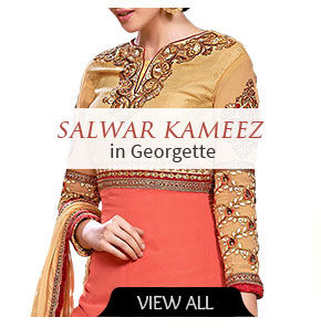 Gorgeous Salwar Kameez in georgette. Buy!