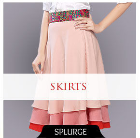 Glamorous Skirts for a dazzling look. Shop!