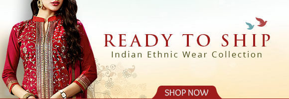 Delightful Ready to Ship range is now with an infusion of fresh styles in Indian Ethnic Wear. Shop!