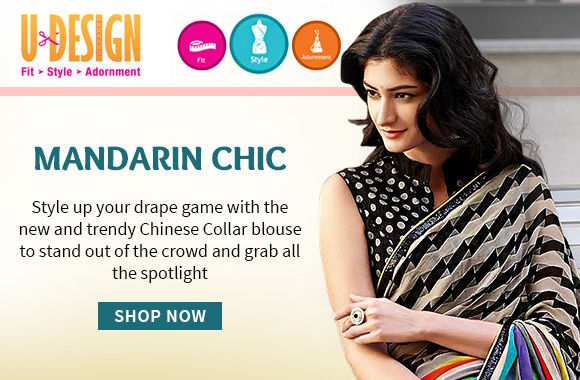 Chinese Collar blouses for an elegant and chic appeal. Buy!