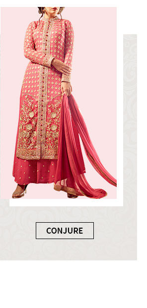 Select from our inspiring range of Salwar Suits in Pink. Buy Now!