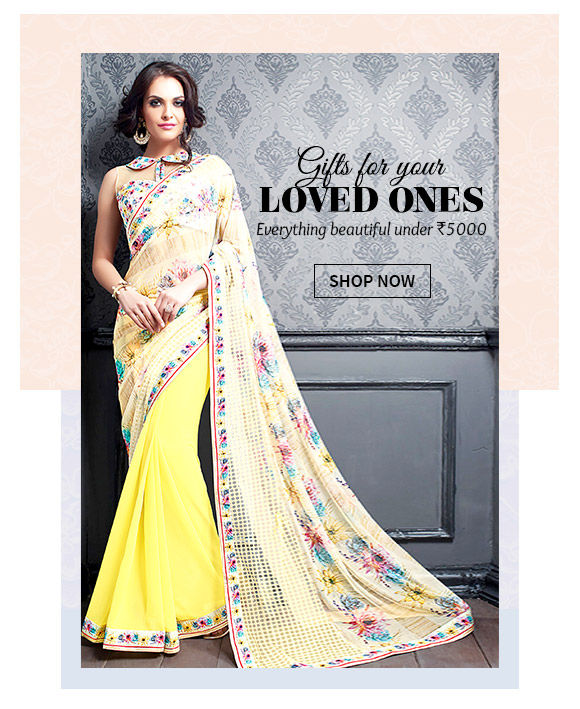 Gifts under INR 5000 with 1 day dispatch from Attires for Women, Men, Kids & Add-ons. Shop!