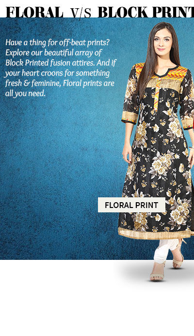A myriad of Attires in Floral Prints. Buy Now!