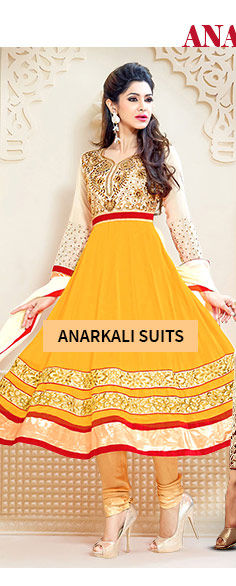 Choose from gorgeous range of Anarkalis. Buy Now!