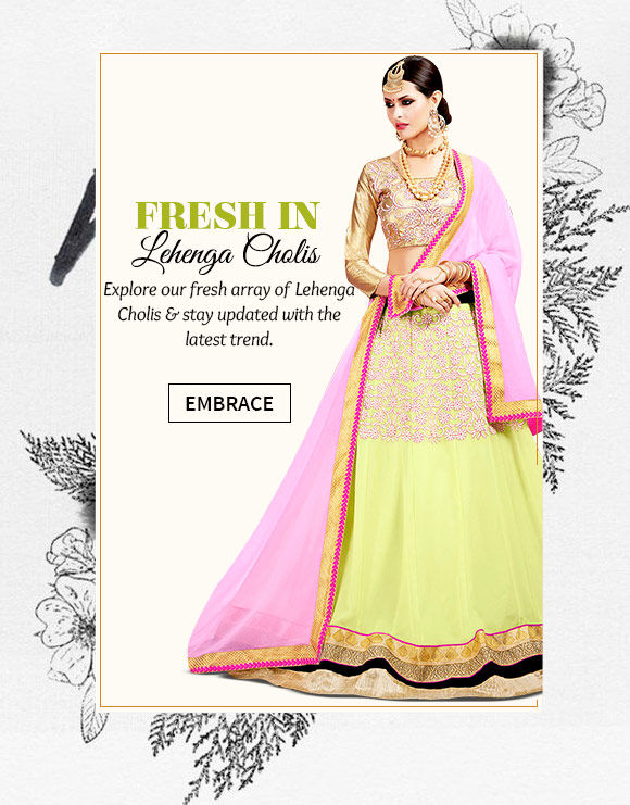 New Arrivals in Lehenga Cholis