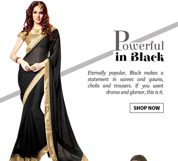 The all-glam Black collection in ensembles, accessories, menswear & more. Shop Now!