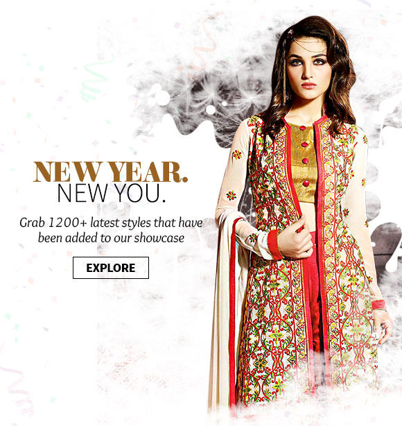 Freshly arrived range of Ethnic Ensembles & Accessories. Grab now!