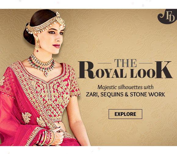 Royal Collection of Ensembles with Sequin, Zari & Stone work. Shop!
