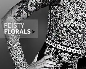 Floral Charm splashed on  Sarees, Salwar Suits, Lehenga Cholis, Accessories & more. Shop Now!