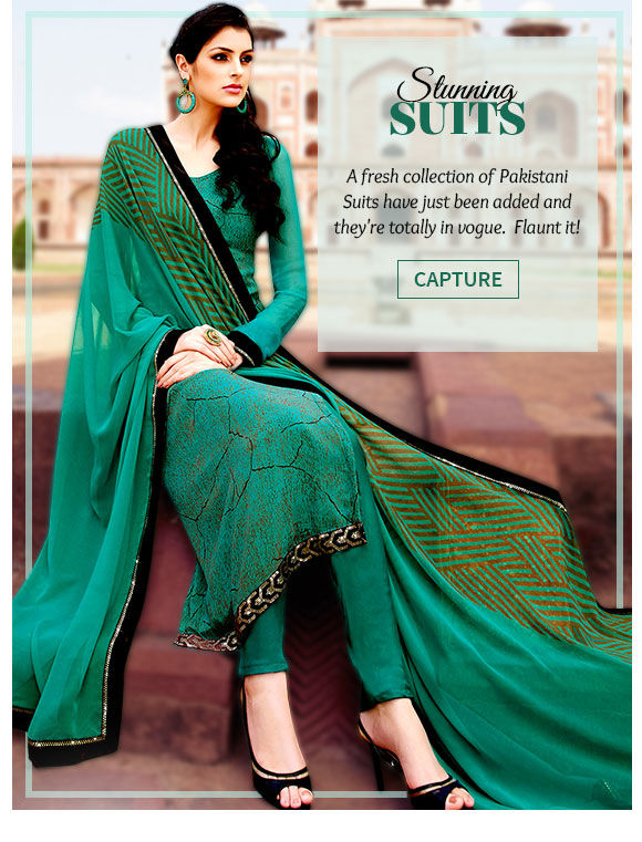 Latest range of Pakistani suits. Buy Now!
