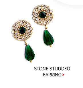 Beautiful Stone Studded Earring. Buy Now!