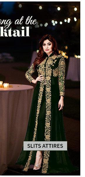 Abaya Suits, Pakistani Suits with Slits. Shop!
