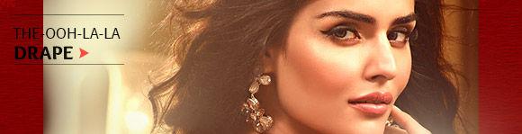 Sarees in Velvet, Satin & Pure Silks. Buy Now!