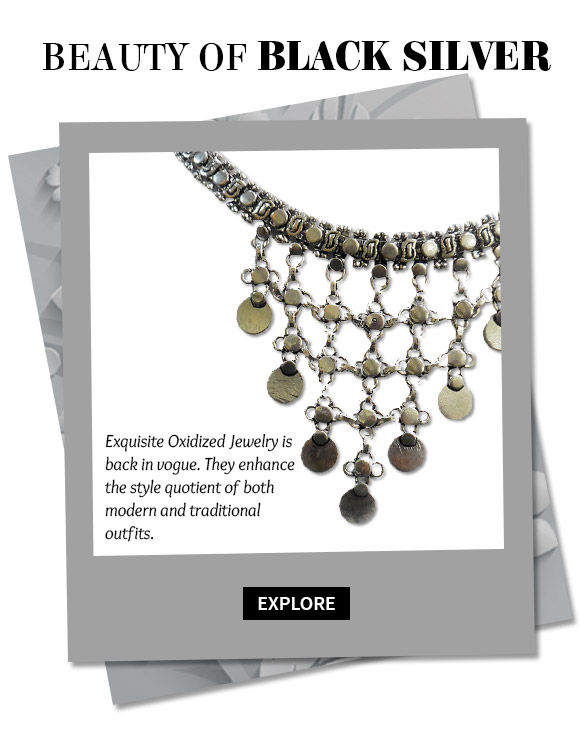 A myriad of beautiful Oxidized Jewelry. Buy Now!