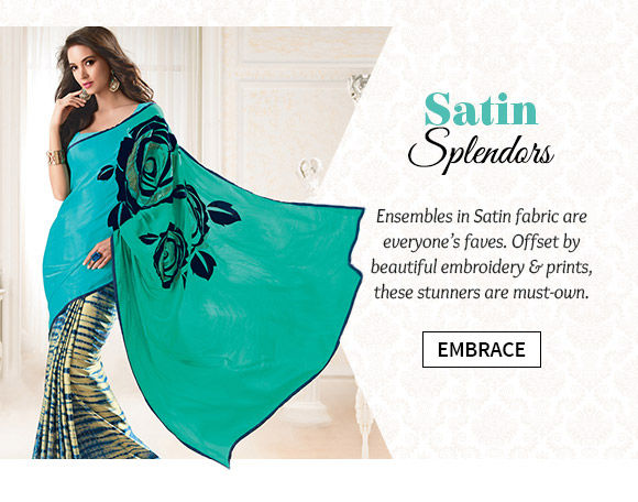A lovely collection of ensembles in Satin. Buy Now!