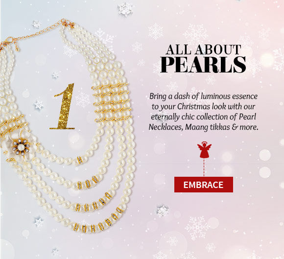 A myriad of Pearl Jewelry. Buy Now!