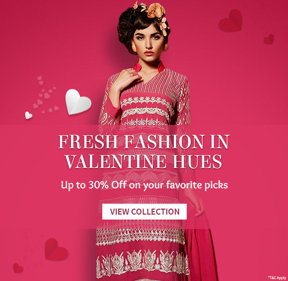 Fresh fashion In valentine Hues