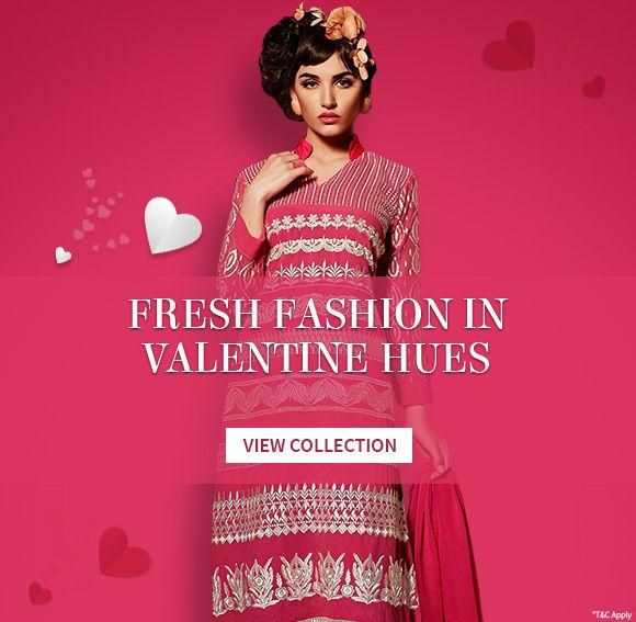 Fresh fashion In velentine Hues
