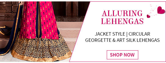 New Arrivals in Lehenga Cholis. Buy Now!