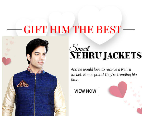 Pick from our versatile range of Nehru Jackets. Buy Now!