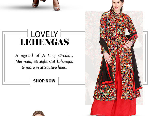 Gorgeous collection of Lehenga Cholis. Buy Now!
