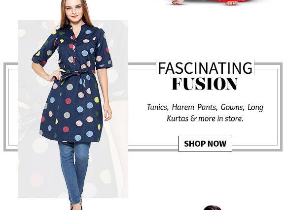 Lovely range of Indo-Western. Buy Now!