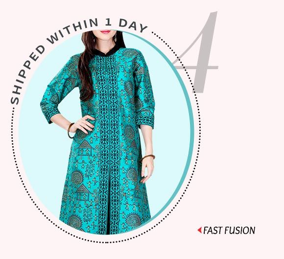 Dispatch within 24 hours- Kurtas, Bottoms, Tunics & more. Buy Now!