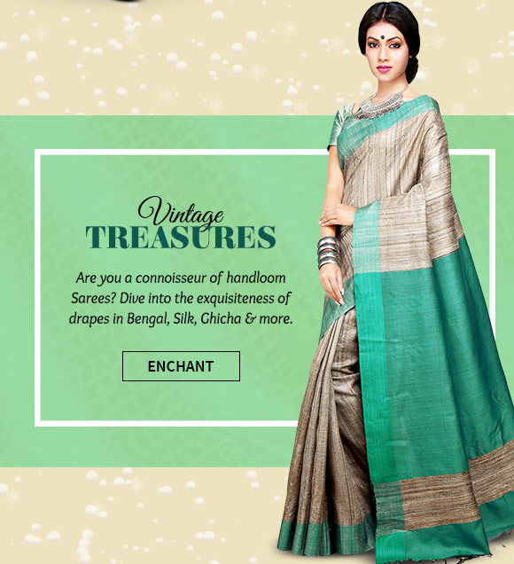 A lovely collection of Handloom Sarees. Buy Now!