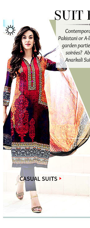A beautiful collection of Pakistani Suits. Buy Now!