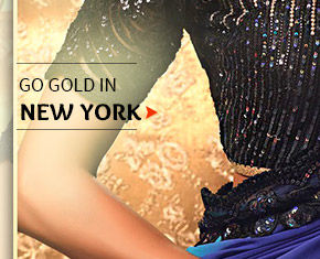 Select from our lovely Collection of Sarees, Salwar Kameez, Lehenga Cholis & more in gold. Buy Now!