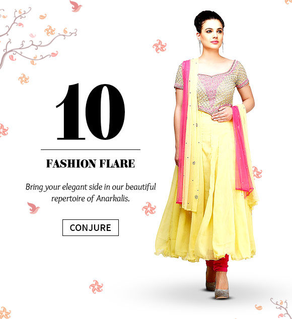 Shop the stunning range of Anarkali Suits.