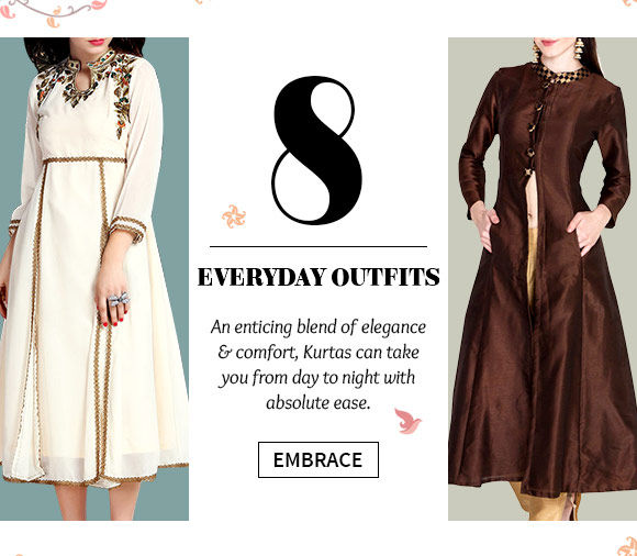 Shop the beautiful collection of Kurtas.