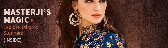 Get Salwar Kameez, Lehenga Choli & Designer Blouse for Sarees with Standard Stitching or UDesign. Order now!