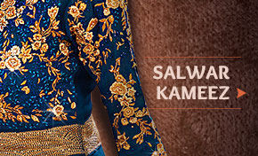Get Salwar Kameez in Anarkali, Straight Cut-Suit, Abaya & Trouser Style with Standard Stitching or UDesign. Order now!