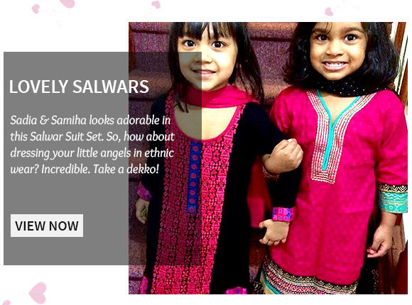 Attractive Salwar Sets for your little angels. Buy Now!
