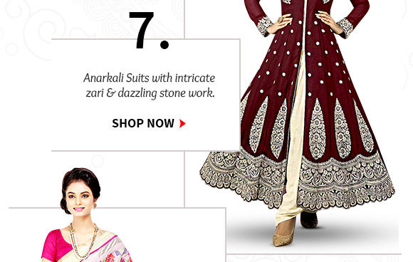 An inspiring Collection of Anarkali Suits. Buy Now!