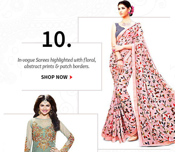 Select from our stunning Collection of Sarees. Buy Now!