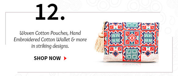 Select from our wide range of Pouches & Wallets. Buy Now!