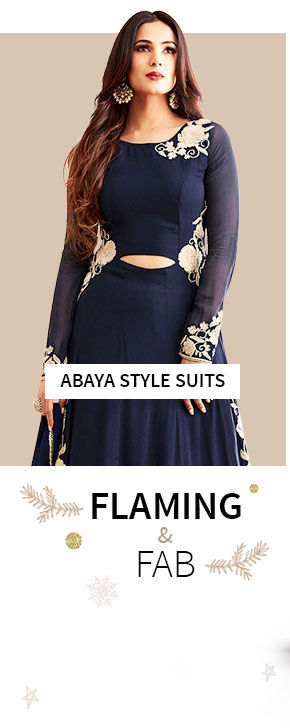 Abaya style Suits for winter. Shop!