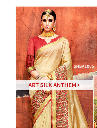 Art Silk Sarees. Shop!