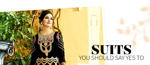 Salwar Suits for weddings. Shop!