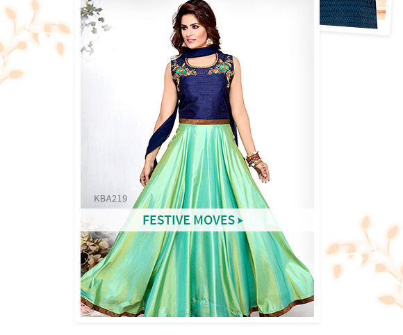 Salwar Suits for festivals. Shop!