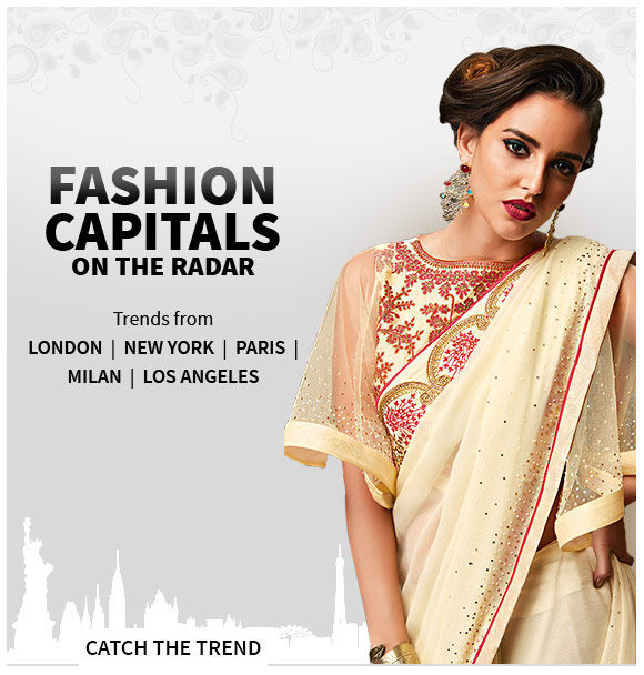 Trends of 5 fashion hubs: Sequins, Collared Styles, Palazzos, Floral Prints and more