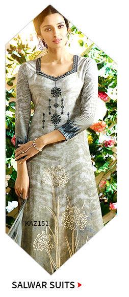 Salwar Suits in neutral tones. Shop!