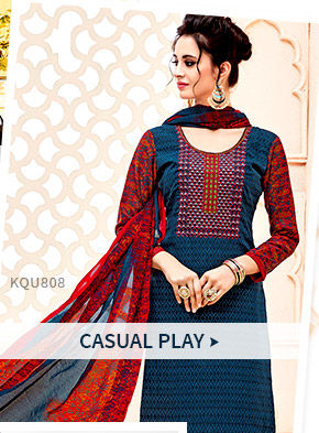 Salwar Suits for casual occasions. Shop!
